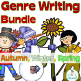 Writing Genre Bundle; Scarecrow, Snowman and Garden Writing