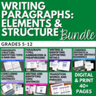 Writing Great Paragraphs: Activities for Struggling Writers
