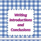 Writing:  Introductions &amp; Conclusions