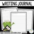 Writing Journal: Free Writing and Prompts