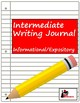 Writing Journal: Genre - Informational or Expository