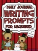 Writing Journal Ideas For December And Winter {Common Core}