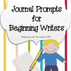 Writing Journal Prompts for Beginning Writers