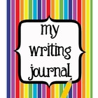 Writing Journal (with prompts)