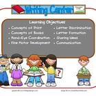 Writing Learning Center Sign~ With Objectives