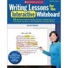 Writing Lessons for the Interactive Whiteboard Book with CD