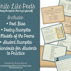 Writing Like Poets-Teach Your Students to Write Presentati