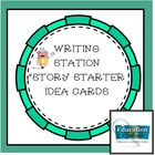 Writing:  Literacy Station or Journal Starter Cards