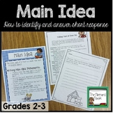 Writing Main Idea Statements- Grades 2-3