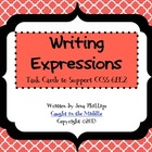 Writing Math Expressions
