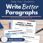 Writing Paragraphs Introduction