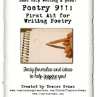 Writing Poetry: 40 Formulas to Help Students Write Poems