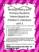 Writing Poetry with Primary Students Based on Children's L