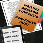 Writing Portfolio: Scavenger Hunt