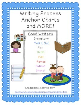 http://www.teacherspayteachers.com/Product/Writing-Process-Anchor-Charts-and-MORE-863681