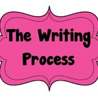 Writing Process Bulletin Board Posters