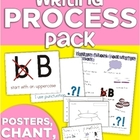 Writing Process Pack (Posters, Chant, Conferencing Sheet &amp; More!)