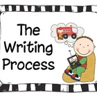Writing Process Posters: Traditional &amp; Expanded