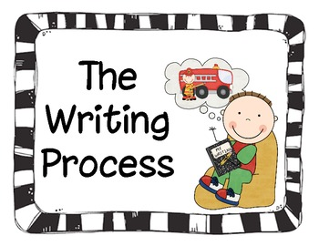 Writing Process Posters: Traditional & Expanded