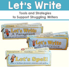 Writing Process Visual Support Pack