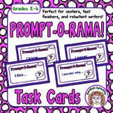 Writing Prompt Cards: 54 Fun and Easy Prompts plus 10 Chal