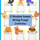 Writing Prompt Craftivities: Woodland Animals