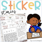 Writing Prompt Labels-Perfect for Centers or  Work on Writing