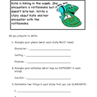 Writing Prompt Organizer - Rattlesnake