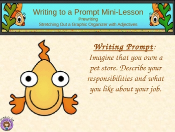 Writing Prompt - Pretend You Own a Pet Store