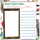 Writing Prompt Printable: Animal Tales- Tells n' Tails n' Tales