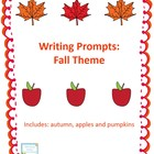 Writing Prompts: Fall Theme
