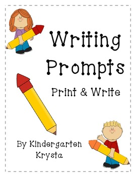 Writing Prompts  - Lined