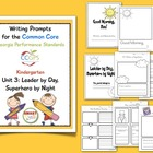 Writing Prompts for CCGPS Kindergarten Unit 3: Leader by D