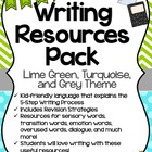 Writing Resources for Students Booklet