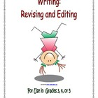 Writing - Revising and Editing