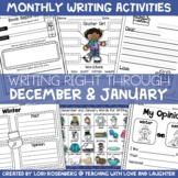 Writing Right Through...December & January