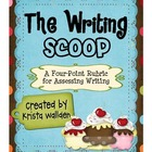 Writing Scoop {Ice Cream-Themed Four-Point Rubric}