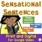 Writing Sensational Sentences