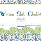 Writing Skills Checklist 