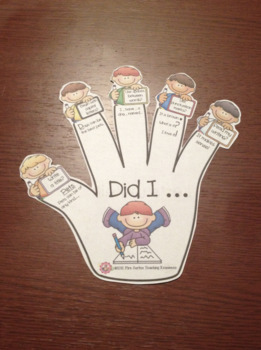 Writing Steps and Checklist Helper/ Bilingual