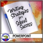 Writing Strategies for School Success PowerPoint