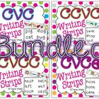 Writing Strips BUNDLED {CVC, CVCe, CCVC, CVCC}