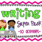 Writing Super Pack {10 activities}