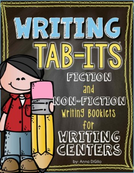 Writing Tab-Its for Interactive Notebooks & Writing Stations