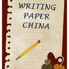 Writing Paper - China