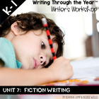 Writing Through the Year Unit 7 Fiction Writing  {Aligned