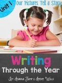 Writing Through the Year Units 1-4 Bundled  {Aligned with