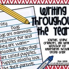 Writing Throughout The Year: Journals, Graphic Organizers,