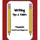 Writing Tips &amp; Tidbits