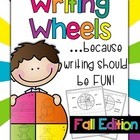 Writing Wheels for Work on Writing {Fall Edition}
